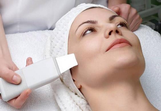 pulizia del viso ultrasuoni