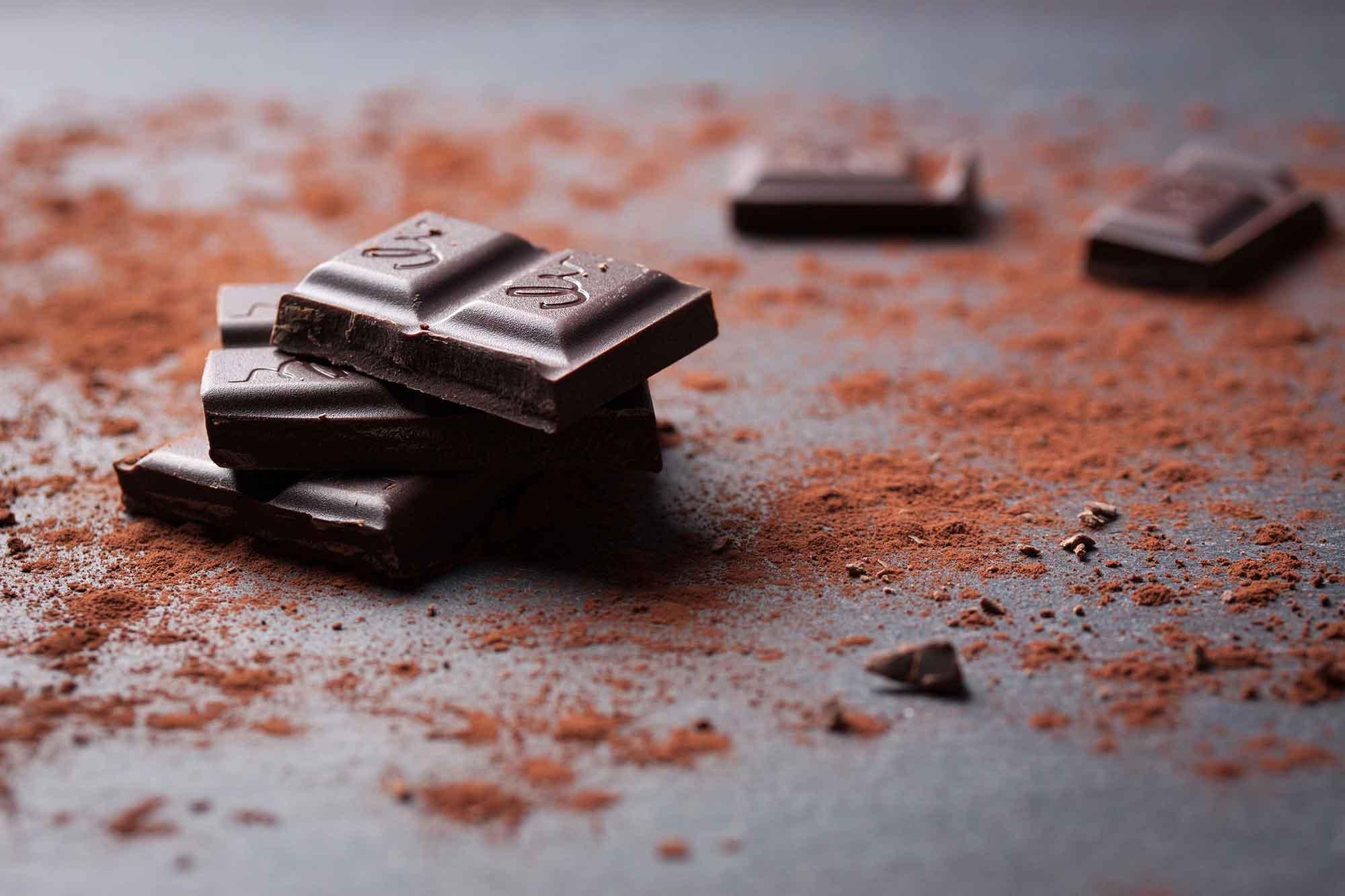 percorso rituale sontuoso al cioccolato